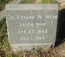 Col. Richard W. Webb