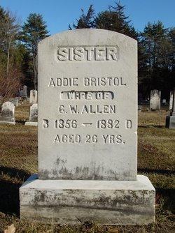 Addie <i>Bristol</i> Allen