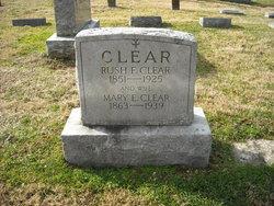 Mary Elizabeth <i>Catron</i> Clear