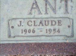 Sgt John Claude Anthony