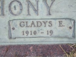 Gladys E. Anthony
