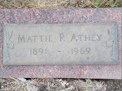 Mattie P. Athey