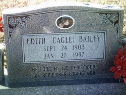 Edith <i>Cagle</i> Bailey