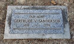 Gertrude V. Sanderson
