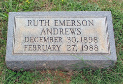 Ruth <i>Emerson</i> Andrews