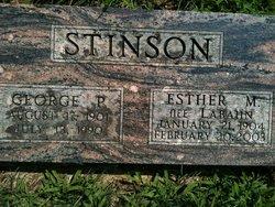 Esther Marie <i>Labahn</i> Stinson