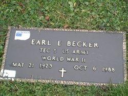Earl E Becker