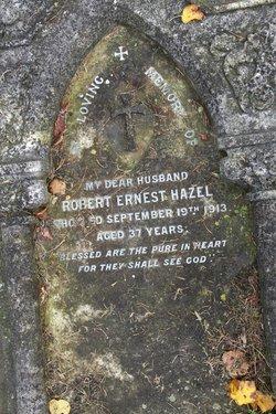 Robert Ernest Hazel