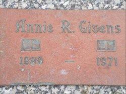 Annie <i>Renfrow</i> Givens