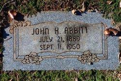 John H Abbitt