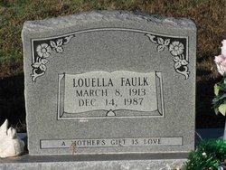 Nancy Louella <i>Hatten</i> Faulk