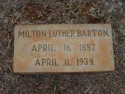 Milton Luther Barton