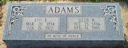 Edd Edgar Ed Adams