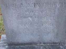 Madora Ann Dora <i>Champ</i> Bell