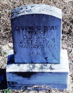 Caroline Catherine Carrie <i>Bolin</i> Barrs