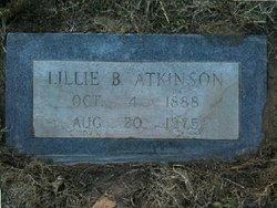 Lillie Bell <i>Lewis</i> Atkinson