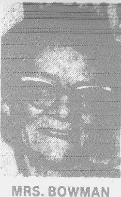 Stella E. <i>Montgomery</i> Bowman