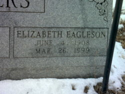 Elizabeth <i>Eagleson</i> Bridgwaters
