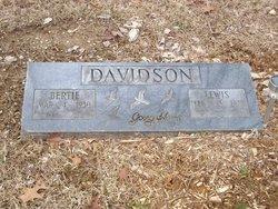 Lewis Roosevelt Davidson, Sr