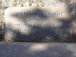 William Henry Lundie