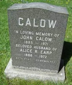 Alice R. <i>Earp</i> Calow