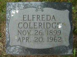 Elfreda Coleridge
