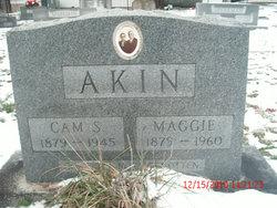 Maggie <i>Jones</i> Akin