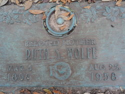 Ruth S. Wolfe
