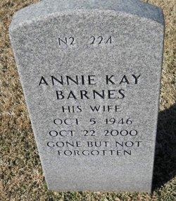 Annie Kay Barnes