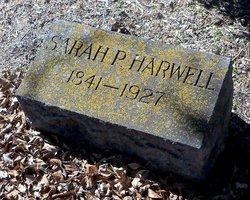 Sarah P. <i>Tarpley</i> Harwell