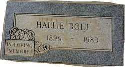 Hallie Margaret <i>Little</i> Bolt