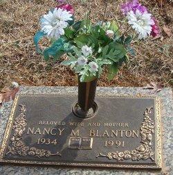 Nancy Lee <i>McCall</i> Blanton