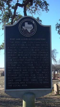 Post Oak Cemetery