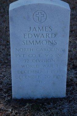 James Edward Simmons