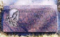 Cordia Lee Davis