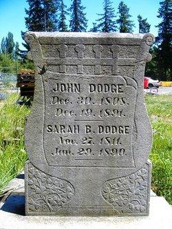 Sarah Banks <i>Ives</i> Dodge
