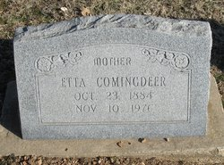 Etta Earle <i>Mitchell</i> Comingdeer