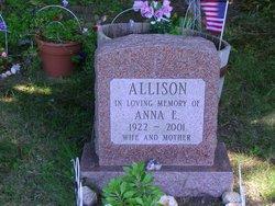 Anna Elizabeth <i>Garnett</i> Allison