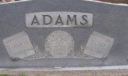 Ada E. <i>Petty</i> Adams