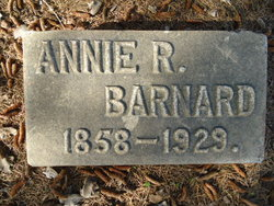 Anna Rebecca Annie <i>McIntosh</i> Barnard