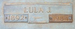 Lula Jane <i>Plyler</i> Aycoth