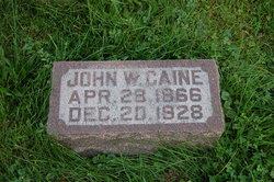 John W Caine