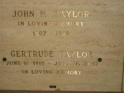 Gertrude Eva <i>Boye</i> Taylor