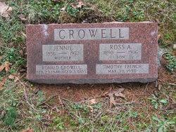 Ross Alexander Crowell