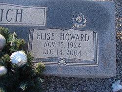 Elise <i>Howard</i> Aldrich