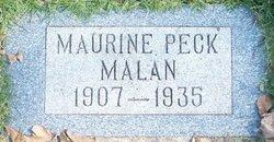 Maurine <i>Peck</i> Malan