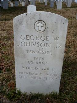 George W Johnson, Jr
