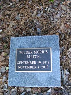 Sgt Wilder Morris Blitch