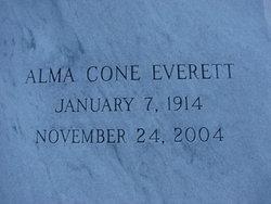 Alma <i>Cone</i> Everett