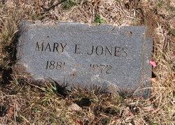 Mary E Jones